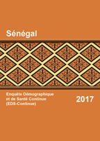 Cover of Senegal DHS, 2017 - Final Report (French)