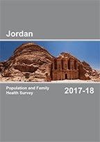 Cover of Jordan DHS, 2017-18 - Final Report (English)
