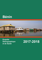 Cover of Benin DHS, 2017-18 - Final Report (French)