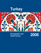 Cover of Turkey DHS, 2008 - Final Report (English)