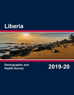 Cover of Liberia DHS, 2019-20 - Final Report (English)