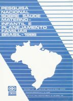Cover of Brazil DHS, 1986 - Final Report (Portuguese)