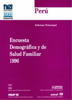 Cover of Peru DHS, 1996 - Final Report (Spanish)