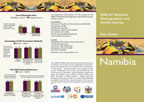 Cover of Namibia DHS 2006-07 Fact Sheet (English)