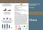 Cover of Ghana DHS 2014 Fact Sheet (English)