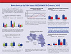 Cover of Guinea DHS, 2012 - HIV Fact Sheet (French)