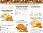 Cover of Senegal DHS 2017 Malaria Fact Sheet (French)