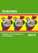 Cover of Burundi MIS, 2012 - MIS Final Report (French)