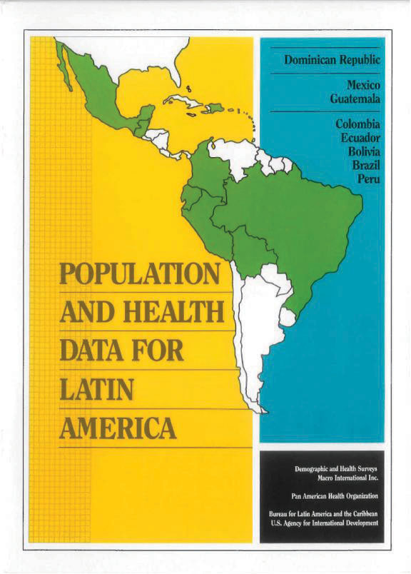 Cover of Population and Health Data for Latin America (English)