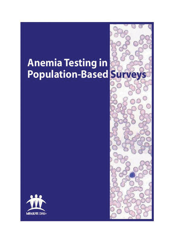 Cover of Anemia Testing in Population-Based Surveys (English)