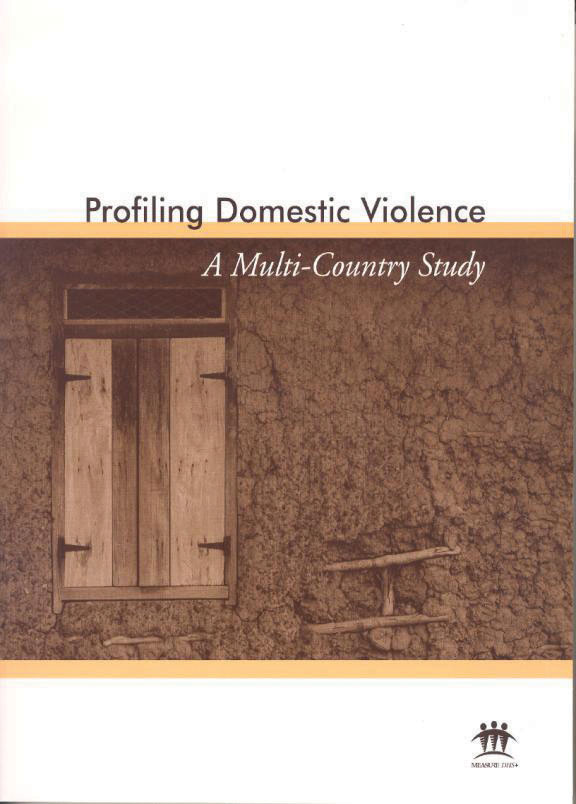 Cover of Profiling Domestic Violence; A Multi-Country Study (English)