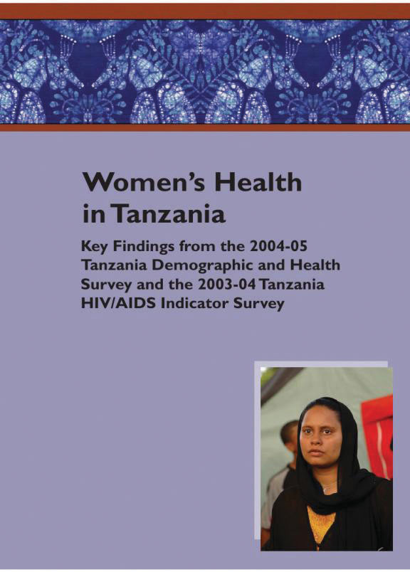 Cover of Women's Health in Tanzania (English)