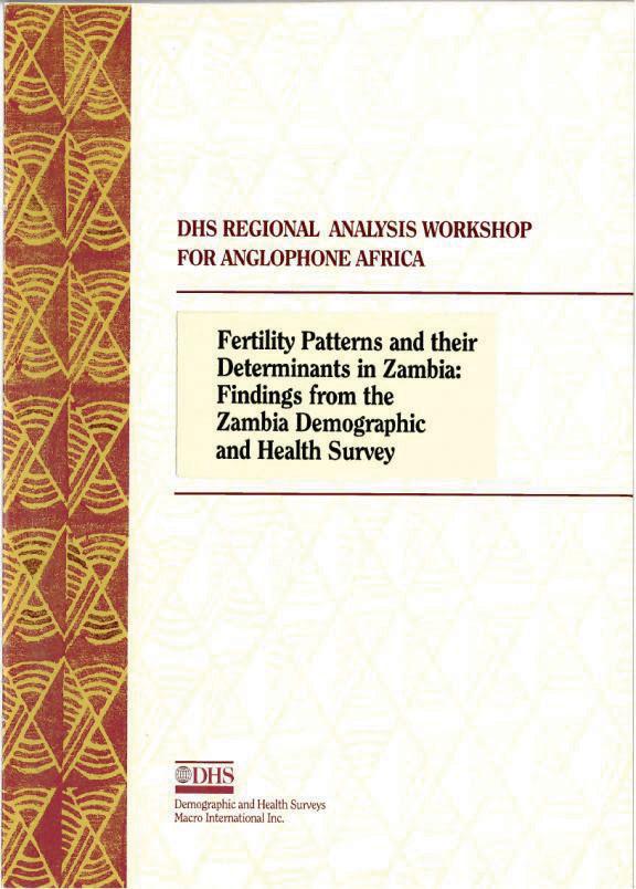 proximate determinants of fertility pdf