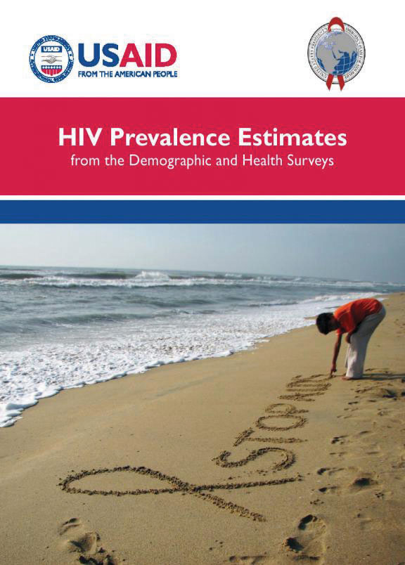 Cover of HIV Prevalence Estimates (English)