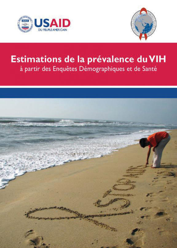 Cover of Estimations de la prévalence du VIH (French)