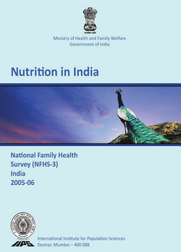 Cover of Nutrition in India (English)