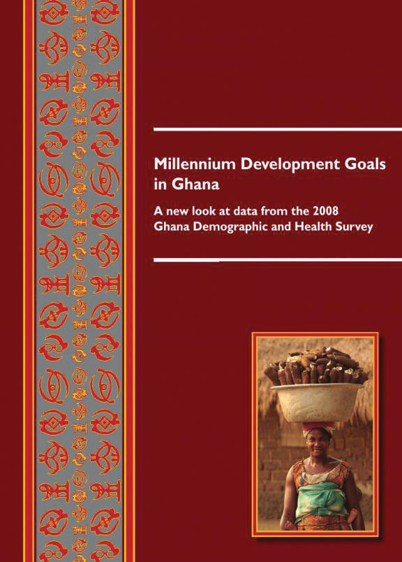 Cover of Millennium Development Goals in Ghana (English)