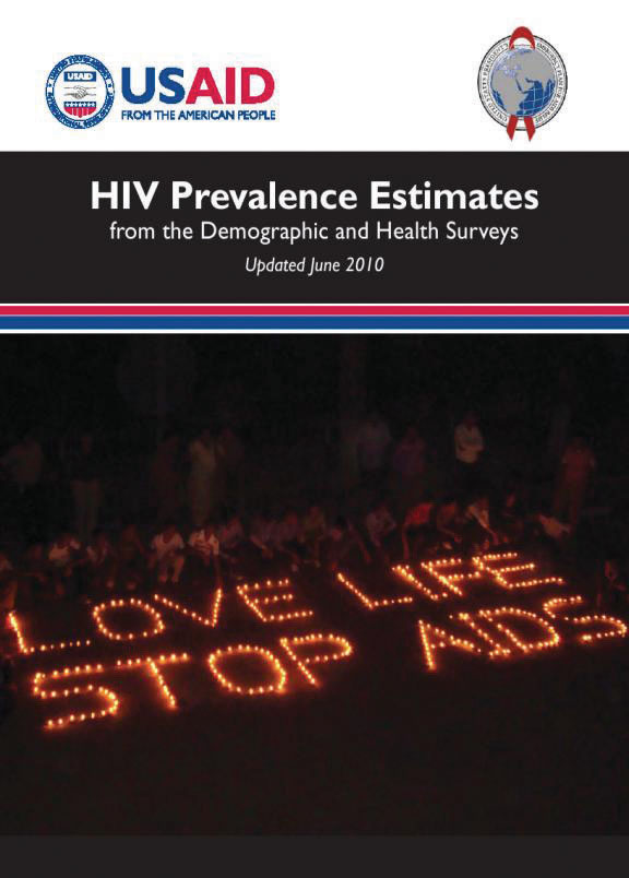 Cover of HIV Prevalence Estimates - Updated June 2010 (English)
