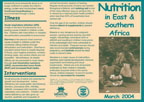 Cover of East and Southern Africa Nutrition Fact Sheet (English)