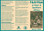 Cover of West and Central Africa Nutrition Fact Sheet (English)