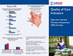 Cover of Quality of Care Indicators: Data from Service Provision Assessment (SPA) Surveys (English)