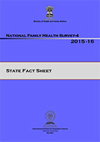 Cover of National, State and Union Territory, and District Fact Sheets - 2015-16 National Family Health Survey (NFHS-4) (English)