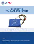 Cover of Costing the Standard Days Method (English)