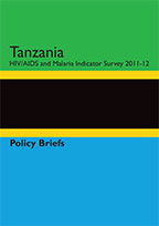 Cover of Tanzania AIS Briefing Kit 2011-12 (English)