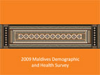 Cover of Maldives: DHS, 2009 - Survey Presentations (English)