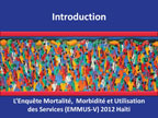 Cover of Haiti: DHS, 2012 - Survey Presentations (French)