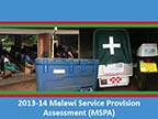 Cover of Malawi: SPA, 2013-14 - Survey Presentations (English)