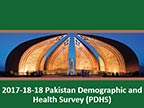 Cover of Pakistan: DHS, 2017-18 - Survey Presentations (English)