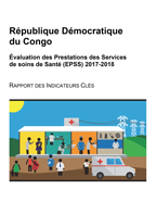 Cover of Congo Democratic Republic: SPA 2017-2018 - Preliminary Report (French)