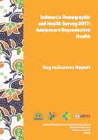 Cover of Indonesia: DHS 2017 Adolescent Reproductive Health - Key Indicators Report (English, Indonesian)