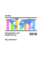 Cover of Zambia: DHS 2018 - Key Indicators Report (English)