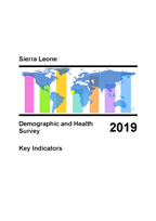 Cover of Sierra Leone: DHS 2019  - Key Indicators Report (English)