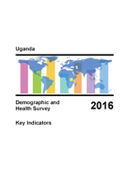 Cover of Uganda: DHS 2016 - Key Indicators Report (English)