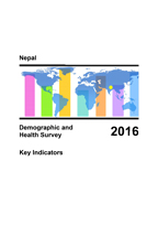 Cover of Nepal: DHS 2016 - Key Indicators Report (English)