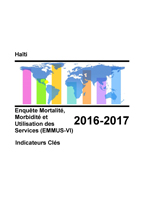 Cover of Haïti: DHS 2016-2017 - Key Indicators Report (French)