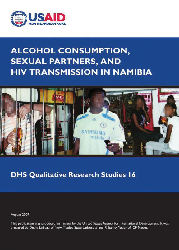 Cover of Alcohol Consumption, Sexual Partners, and HIV Transmission in Namibia (English)