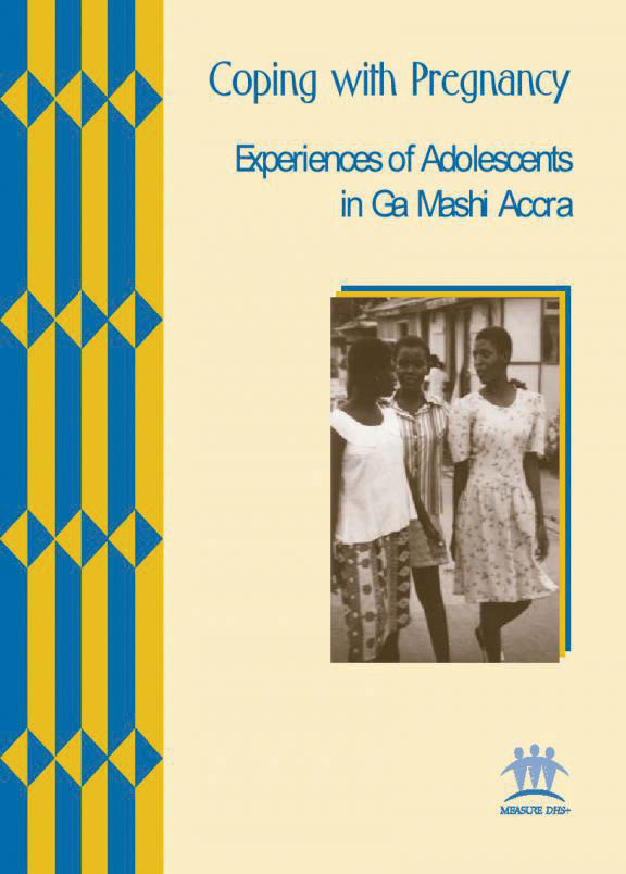 Cover of Coping with Pregnancy; Experiences of Adolescents in Ga Mashi Accra (English)