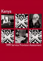 Cover of Kenya MCH SPA, 1999 - Final Report (English)