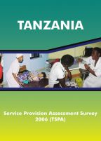 Cover of Tanzania SPA, 2006 - Final Report (English)