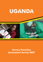 Cover of Uganda SPA, 2007 - Final Report (English)