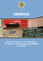 Cover of Senegal SPA, 2012-13 - Final Report Continuous (English, French)