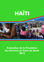 Cover of Haiti SPA, 2013 - Final Report (French)