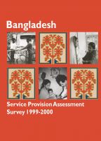 Cover of Bangladesh MCH SPA, 1999-00 - Final Report (English)