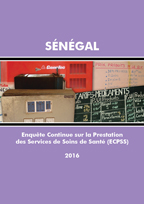 Cover of Senegal SPA, 2016 - Final Report Continuous (French)
