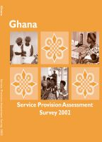 Cover of Ghana MCH SPA, 2002 - Final Report (English)