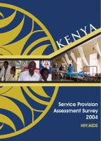 Cover of Kenya SPA, 2004 - Final Report - HIV SPA (English)